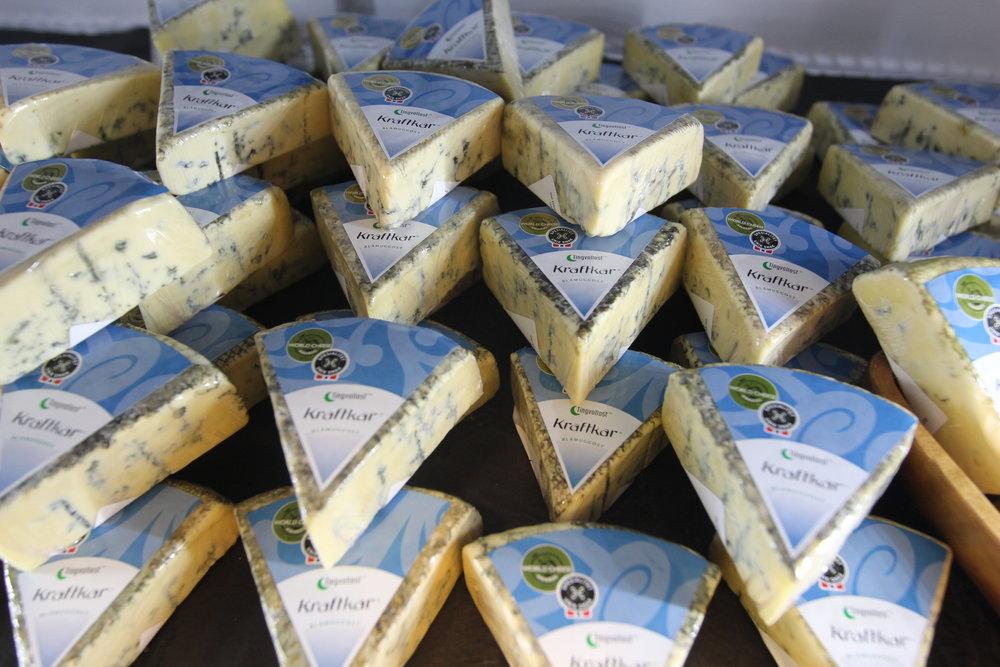 Osten kraftkar fra Tingvollost ble kåret til verdens beste. Det startet et oste-eventyr i Norge. Foto: Odd Roar Lange