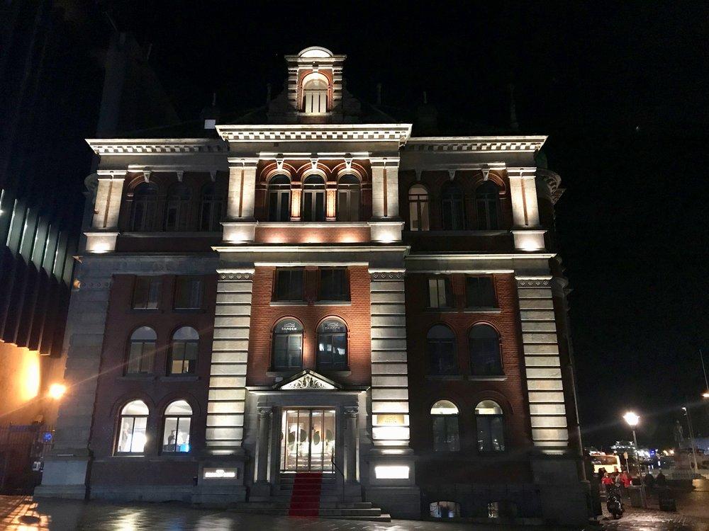 Stemningsfullt hotell midt i Bergen by. Foto: Odd Roar Lange