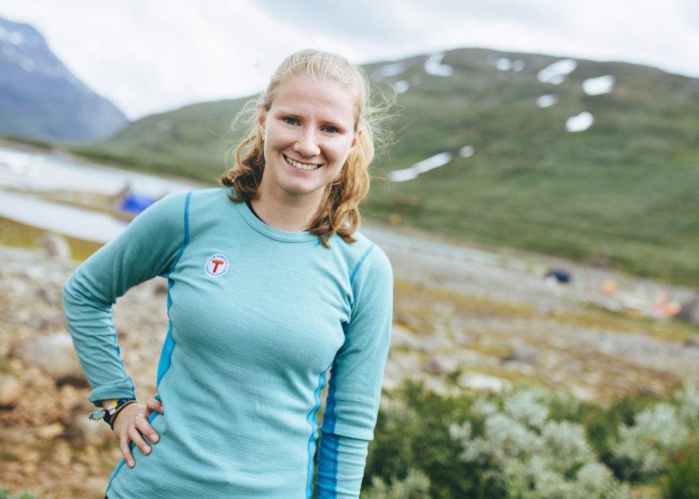 Johanne Grue Reiten, leder i DNT ung.                                             Foto: Turistforeningen