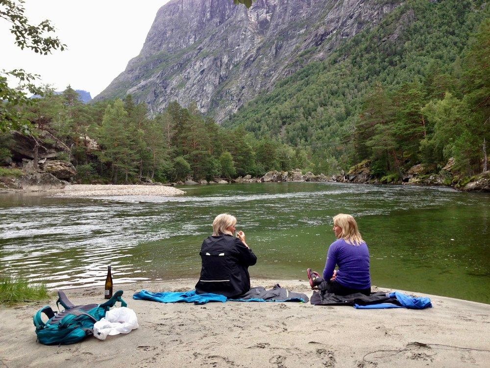 Rauma har tusenvis av gode opplevelser å by på. Mange av dem ligger nær Raumabanen. Foto: Odd Roar Lange