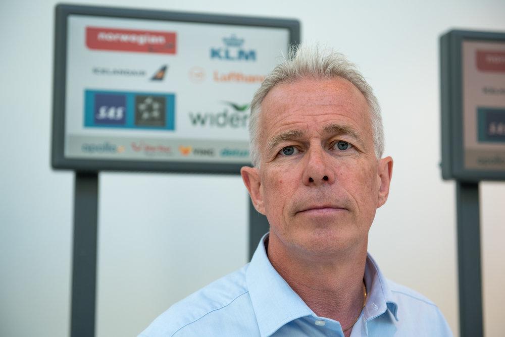 Kommunikasjonssjef i Gjensidige, Arne Voll.