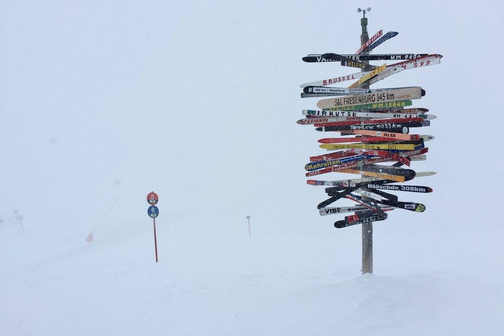 Løypene i Ischgl har mer enn nok snø allerede. Foto: Odd Roar Lange