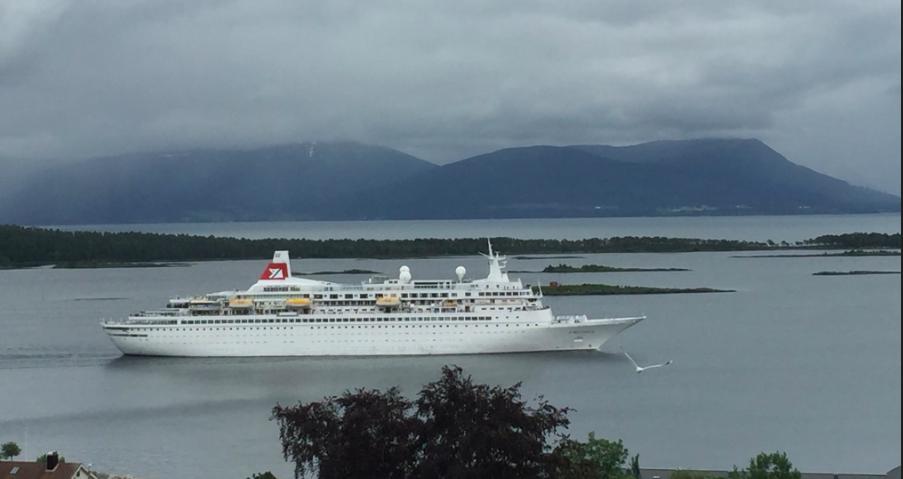 Mørke skyer over deler av norsk cruisefremtid. Foto: Odd Roar Lange