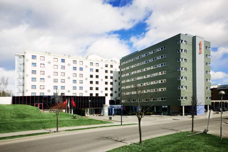 Scandic Hamar har gått på en real smell.                                   Foto: Hotells hjemmeside