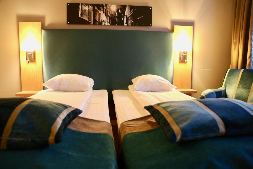 Selvsagt skal du sove godt - også når du er på hotell. Foto: Odd Roar Lange
