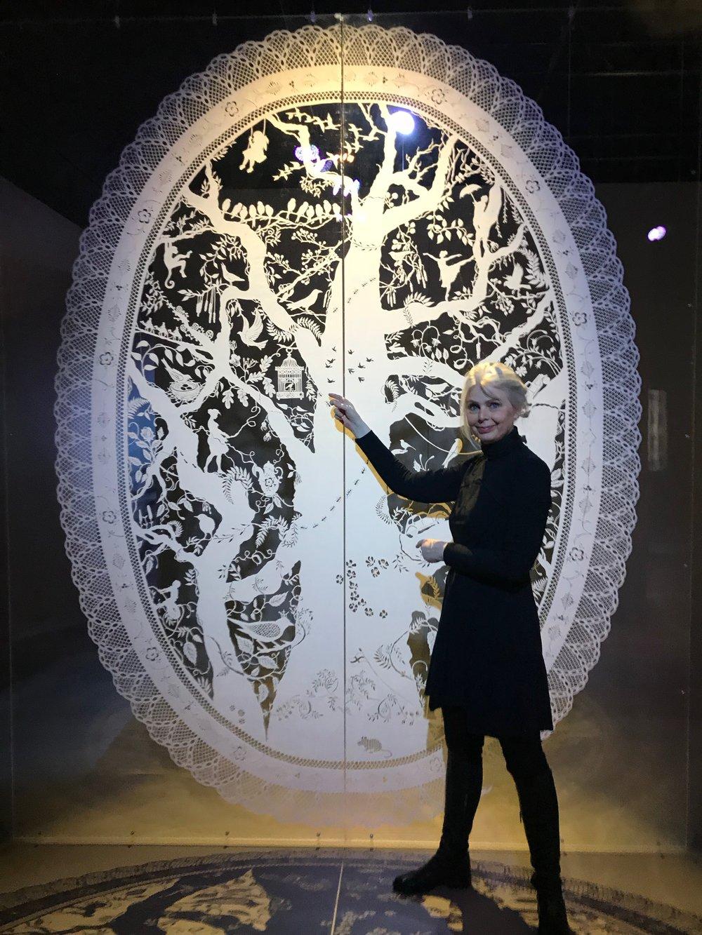 Legg turen til Center for papirkunst i Blokhus i Danmark, hvor Karen Bit Vejle har en utrolig utstilling. Foto: Odd Roar Lange