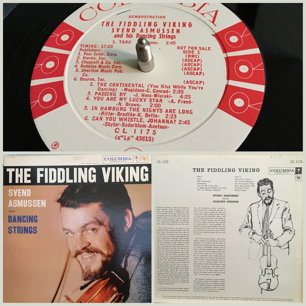 The Fiddling Viking, Svend Asmussen and his Dancing Strings
