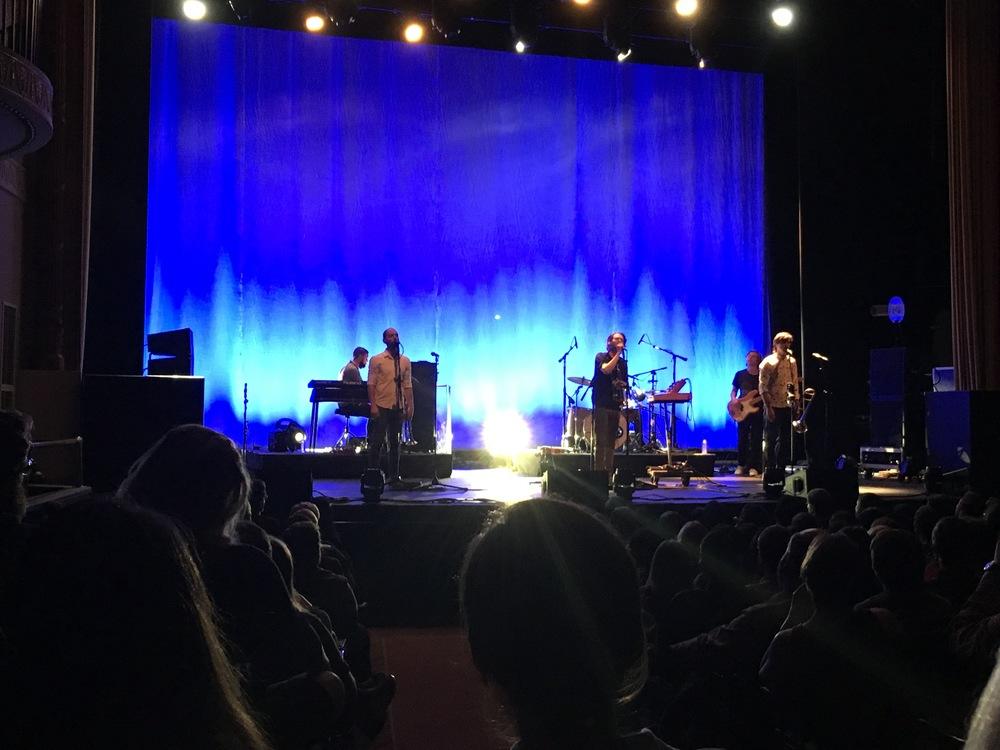 Beirut at Lincoln Theater, Washington, DC, November 2015, after Hailu Mergia's set
