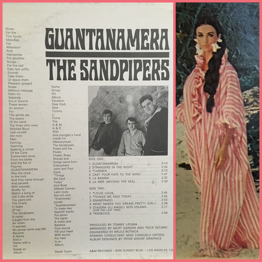 Put on your caftan and cuddle in for some poetry about The Sandpipers.