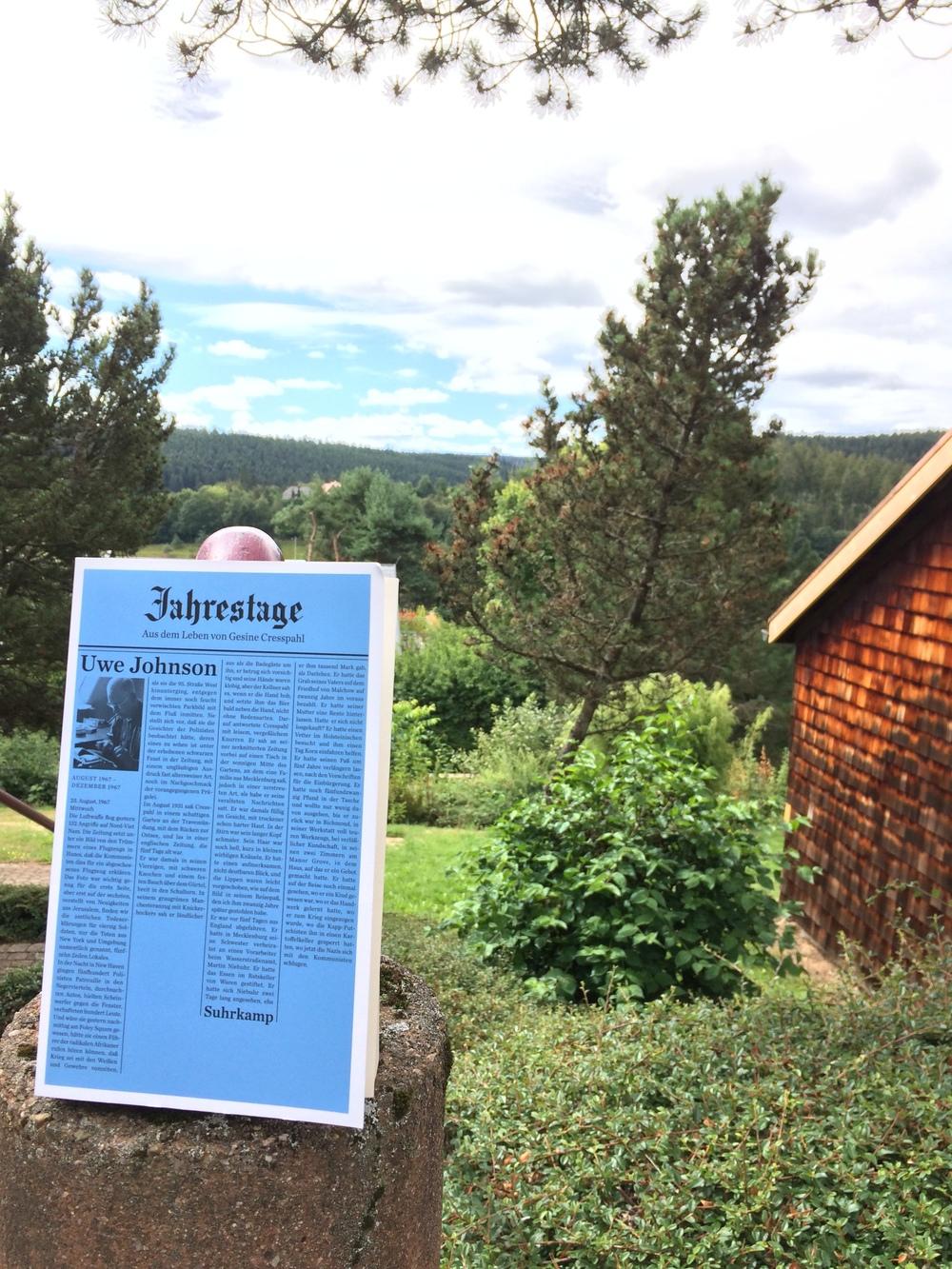 Mit Johnson im Schwarzwald.