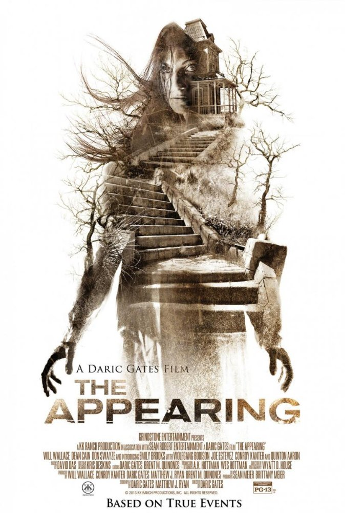 The Appearing   A woman once possessed by a mysterious entity uncovers a shocking secret about her past and must face the demon that dwells inside of her.