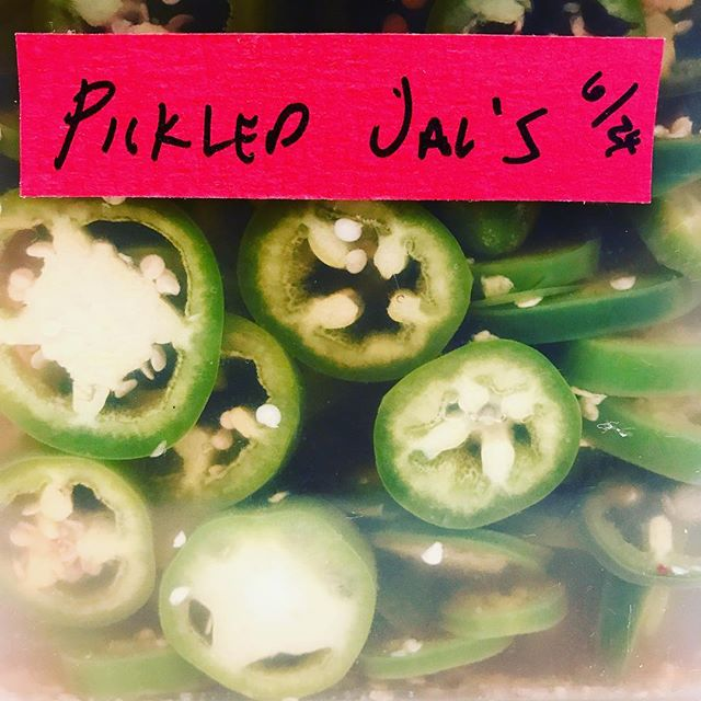 Come get some #breakfast at the Woodlands Farmers Market! Now with pickled jalapeños!