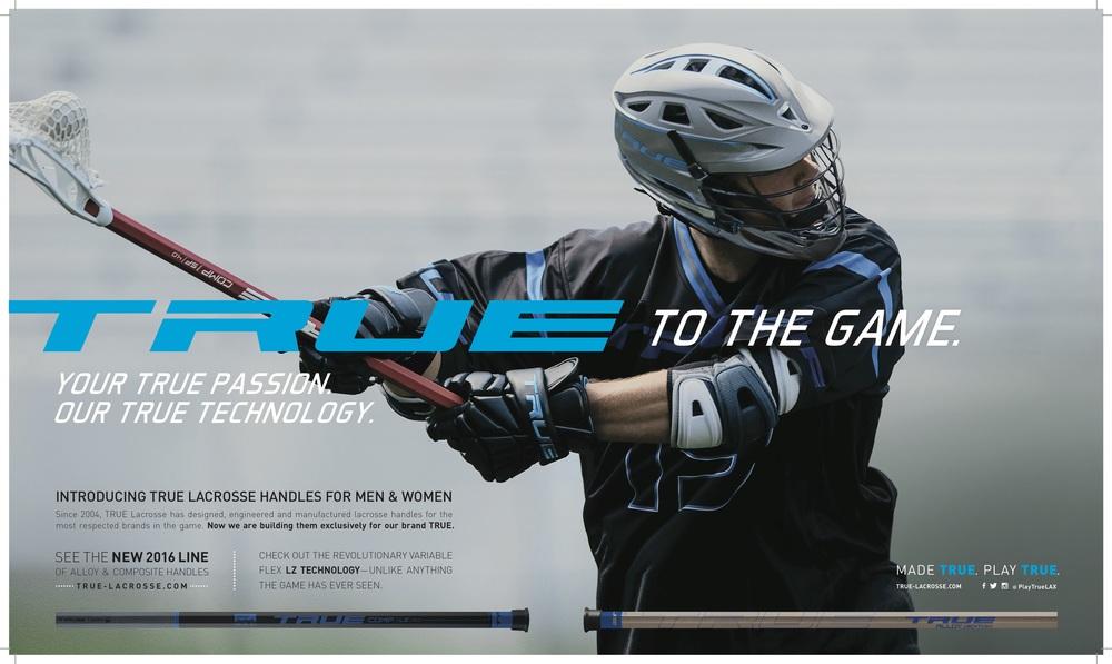 TRUE Lacrosse brand library