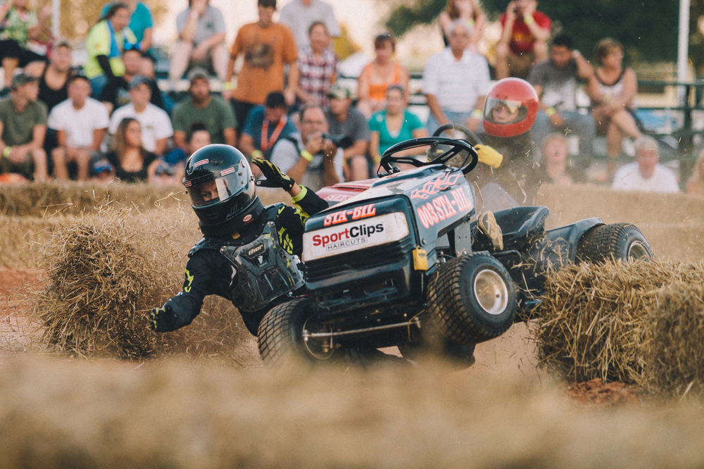 Lawn Mower Racing, Bowles' Farm, MD