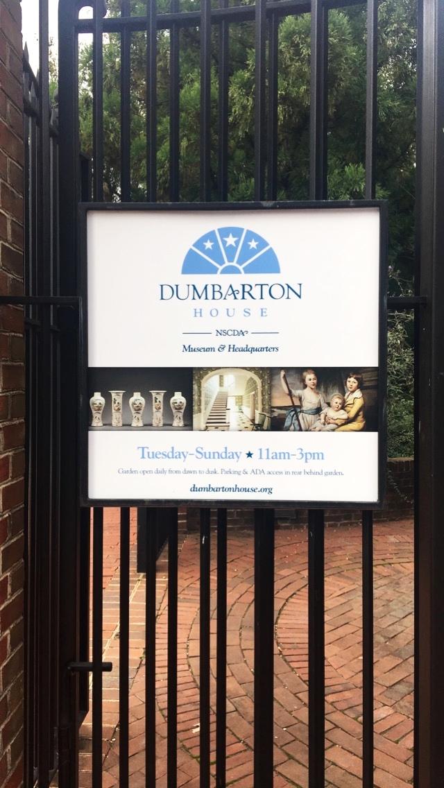 Dumbarton House Hours