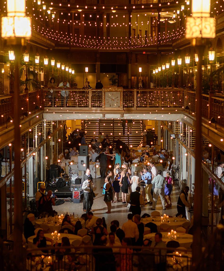 Hyatt Regency Cleveland Arcade