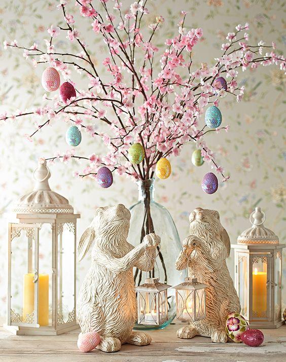 Cherry Blossom Tablescape