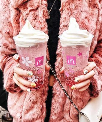 Cherry Blossom Beverage