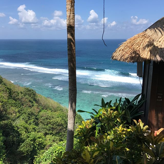 First stop in Bali - Karma Kandara for cliff side massages, drinks, and sushi. #bali #vacation #birthday #beach #massage #relax #sushi