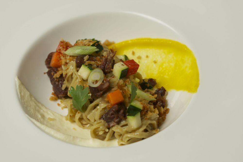 Braised Lamb Pasta
