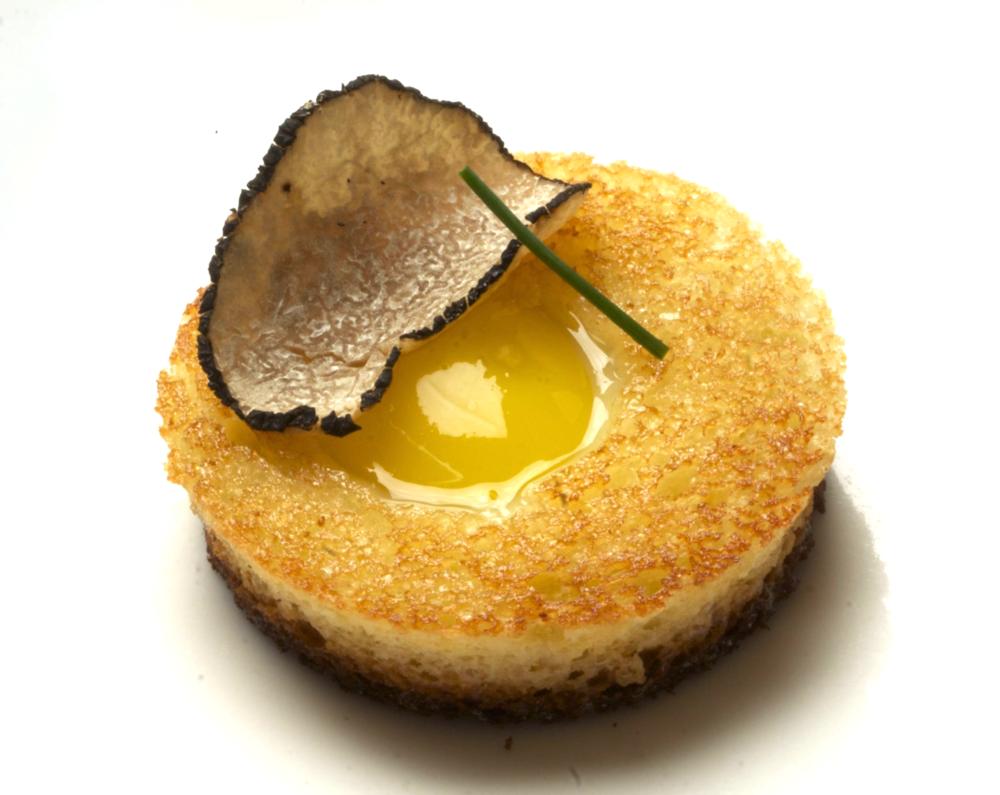 quail egg-in-a-hole