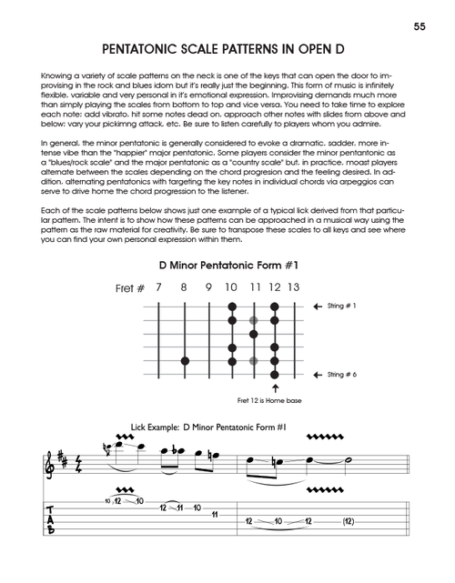 Exploring Open D And Related Tunings Volk Media Books