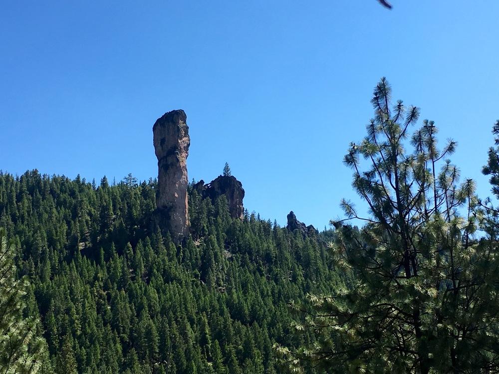 Steins Pillar from Driving Viewpoint