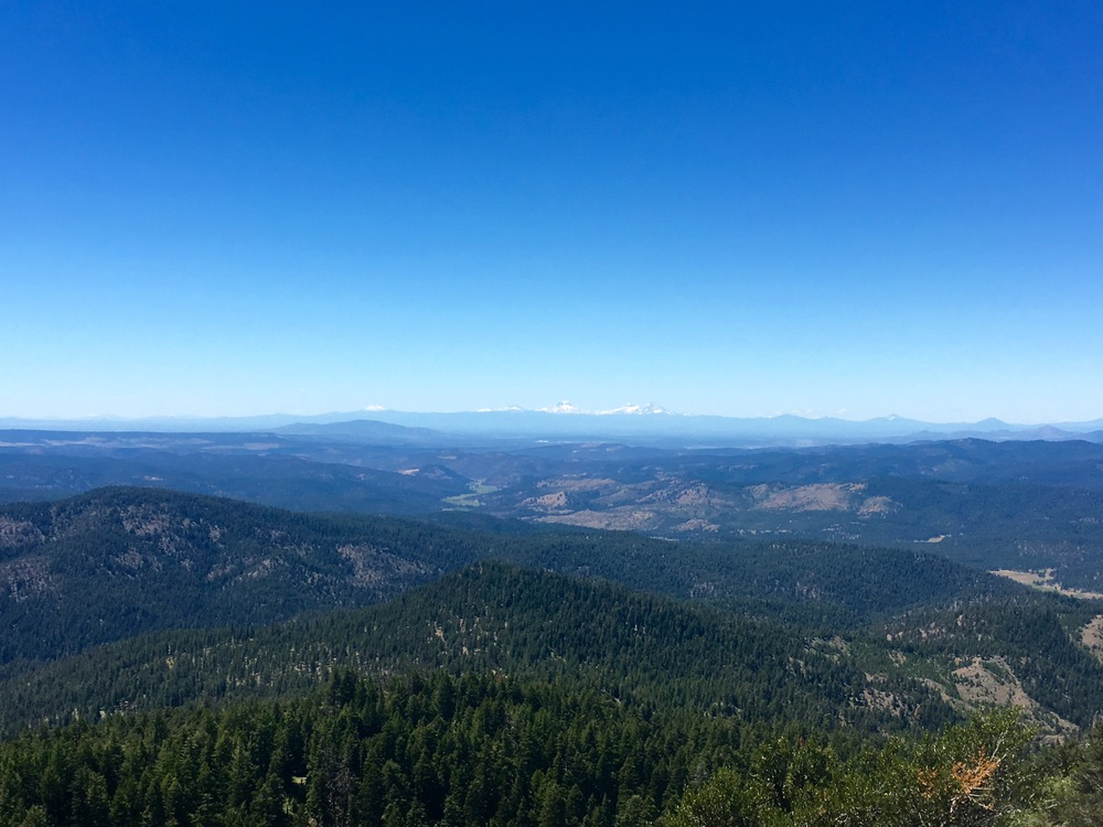 View of the Cascades at the Summit