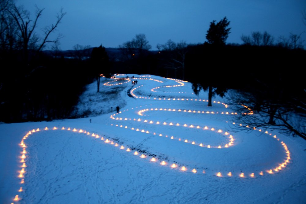 Photo via The Columbus Free Press at the Lighting of the Serpent
