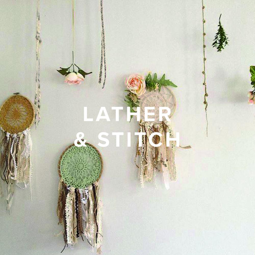 Lather And Stitch