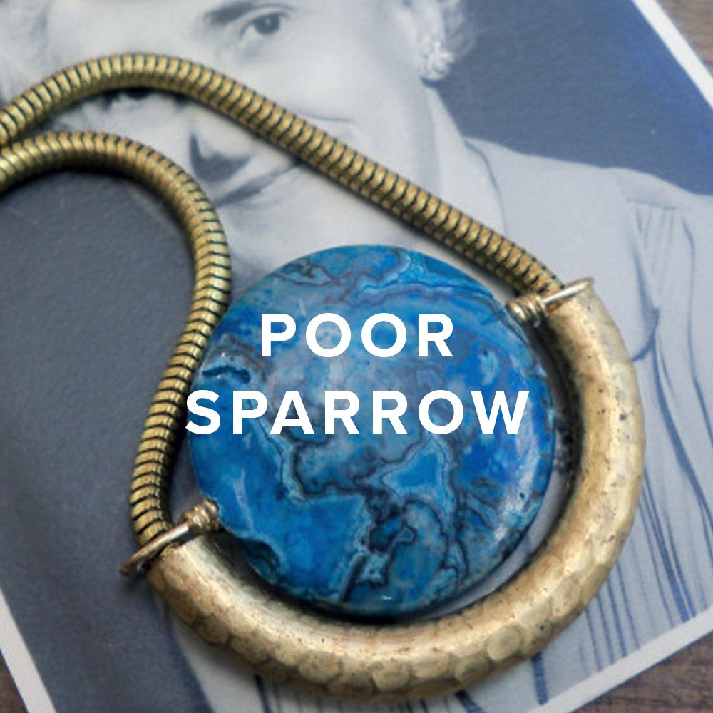 Poor Sparrow Jewelry
