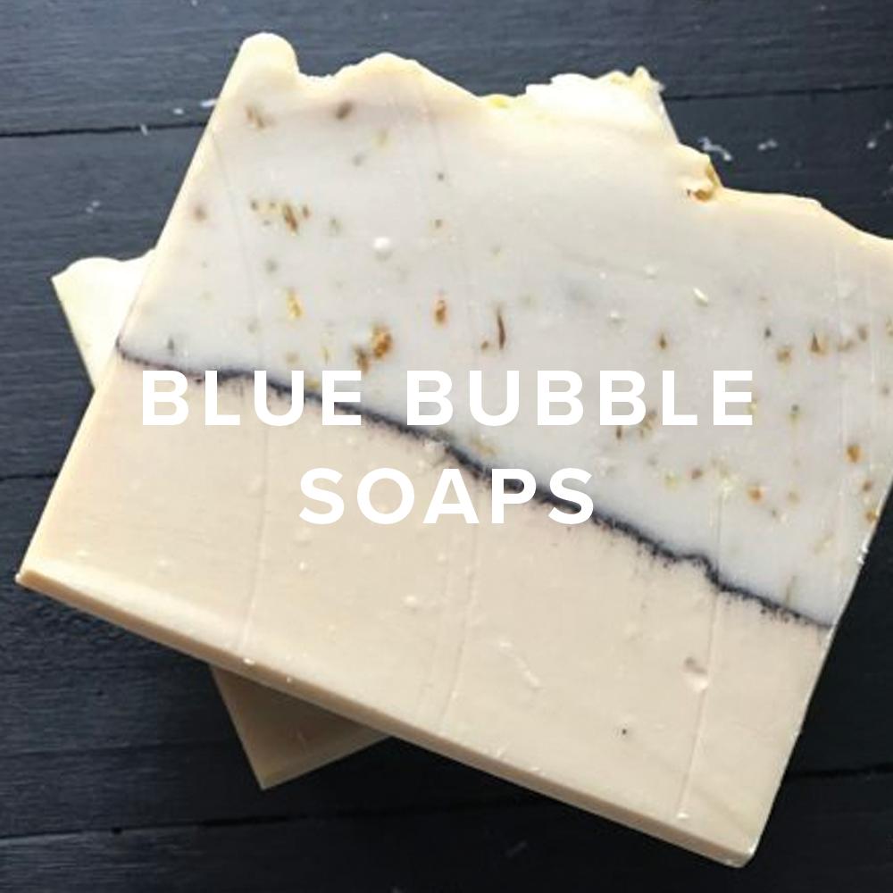 Blue Bubble Soaps