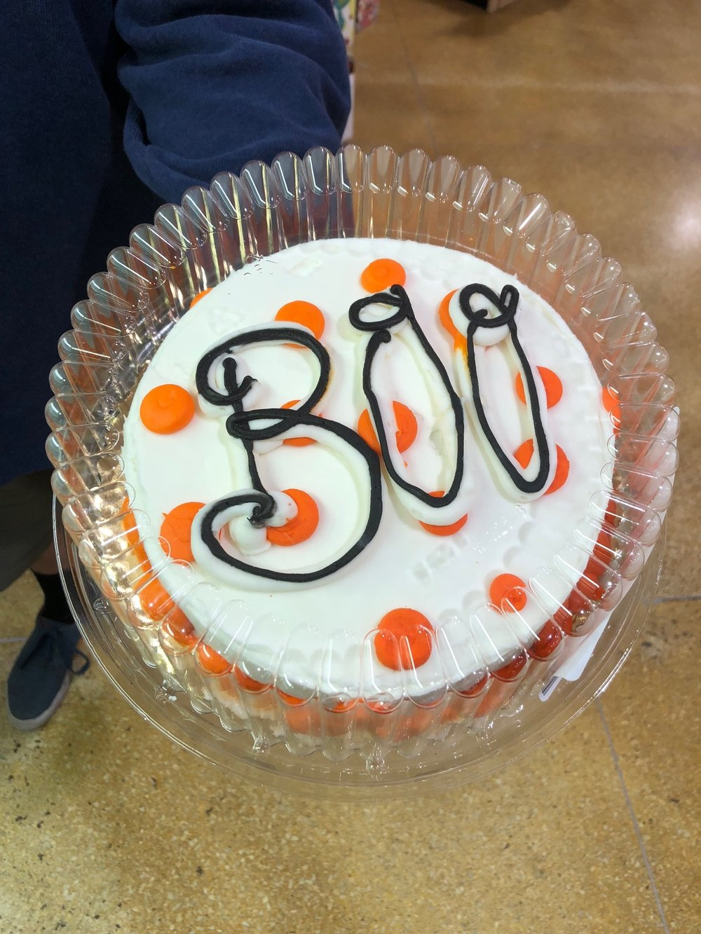 Boo Cake Jungle Jim's