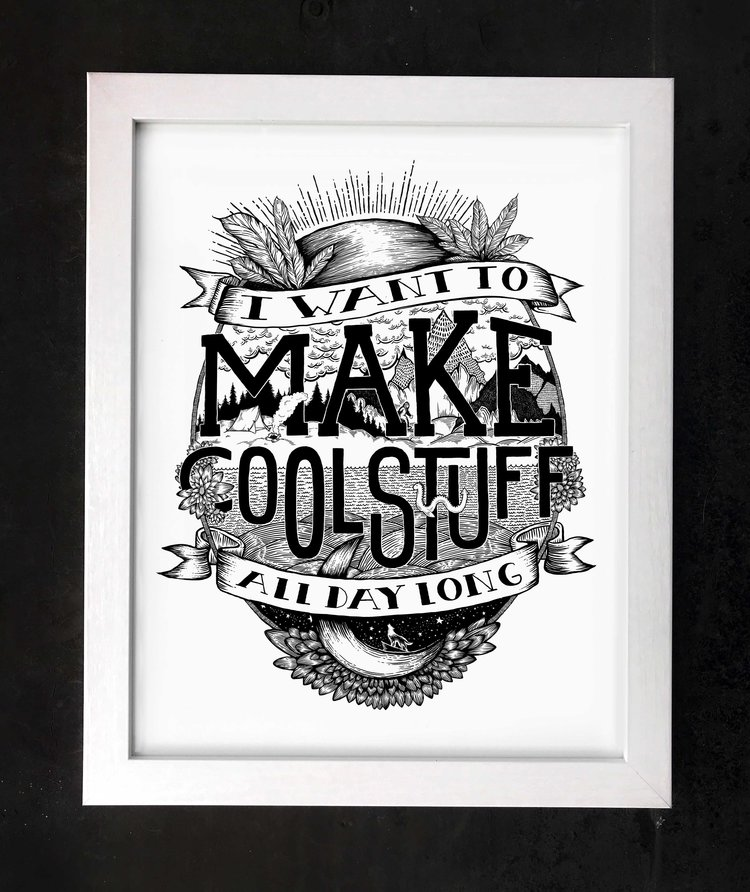 Make Cool Stuff All Day Long - Boundary & Thorn
