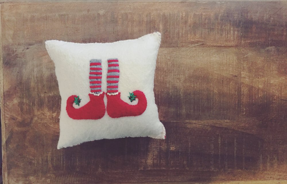 Elf Feet Pillow Westlake Craft
