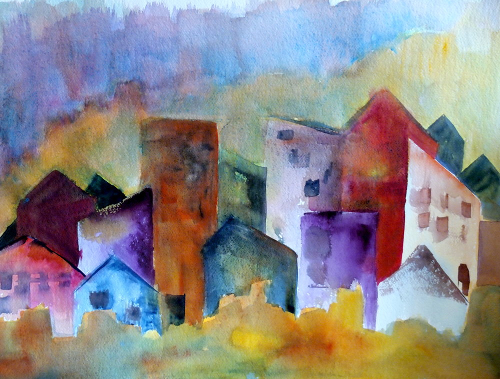 OTR Cincinnati Amy Bryce Watercolors