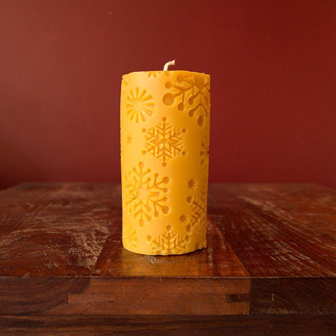 Ginger Bee Beeswax Candle Holiday