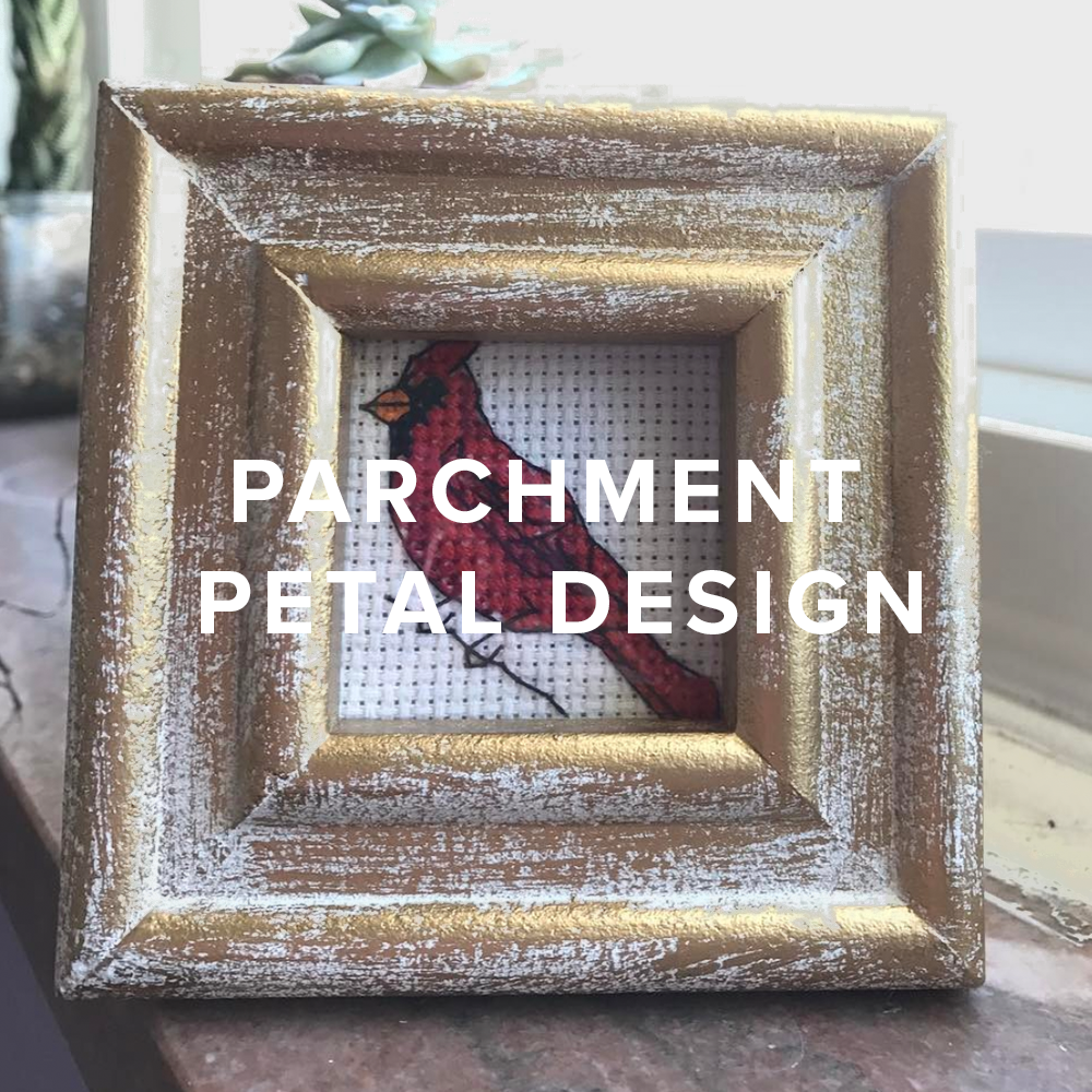 Copy of Parchment Petal Design