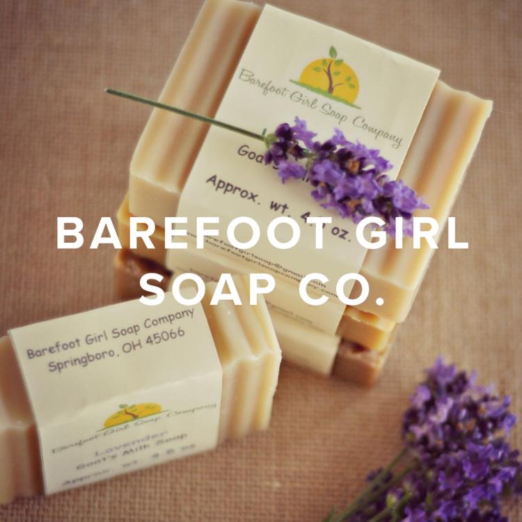Barefoot Girl Soap