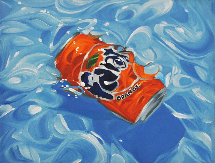 "Benjamin Anderson , ""Fanta"", 10.5""x12"", oil on linen"