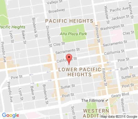 Pacific Heights Google Map