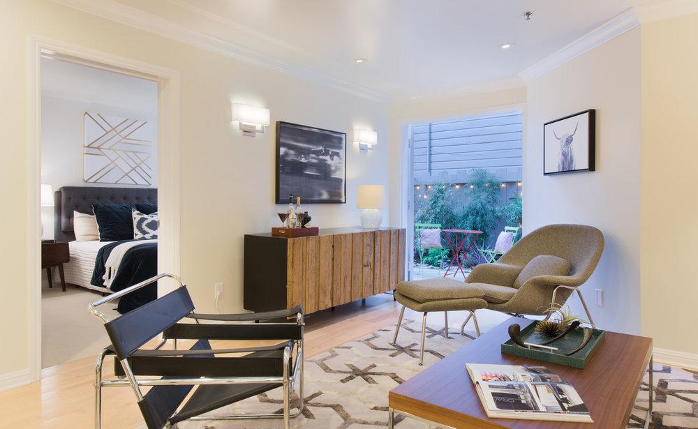Marina Private Garden Condo -  3700 Divisadero Street #101 - $945,000