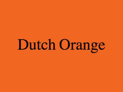 Dutch Orange
