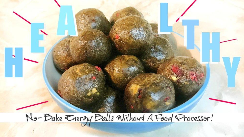 Easy Energy Ball Recipe
