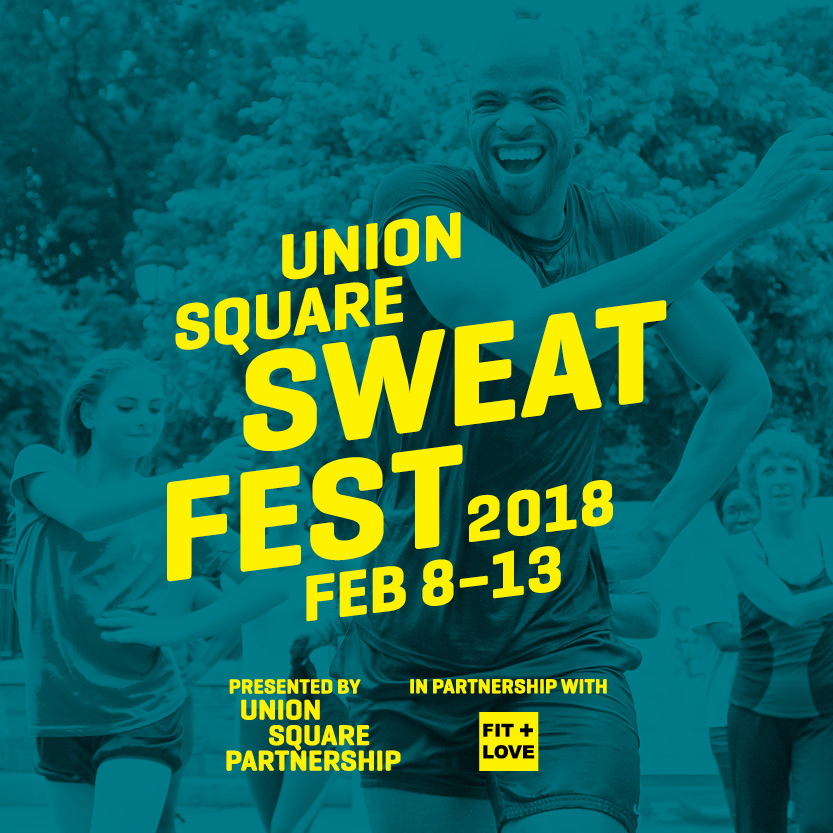 Are you ready to #GetFit with us in Union Square?  This 4th Annual Fitness Festival is happening now.  Join us for a heart-pumping week of healthy living in NYC's healthiest hood. -