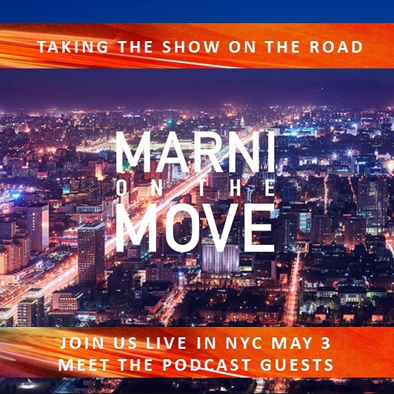 """Save the date! May 3...@marnionthemove is on the move! We are kicking off our summer """"Meet the Guests"""" monthly series in NYC in May.  Email marnionthemove1@gmail.com for additional information or head over to the website www.marnionthemove.com and sign up for our mailing list to learn more."""