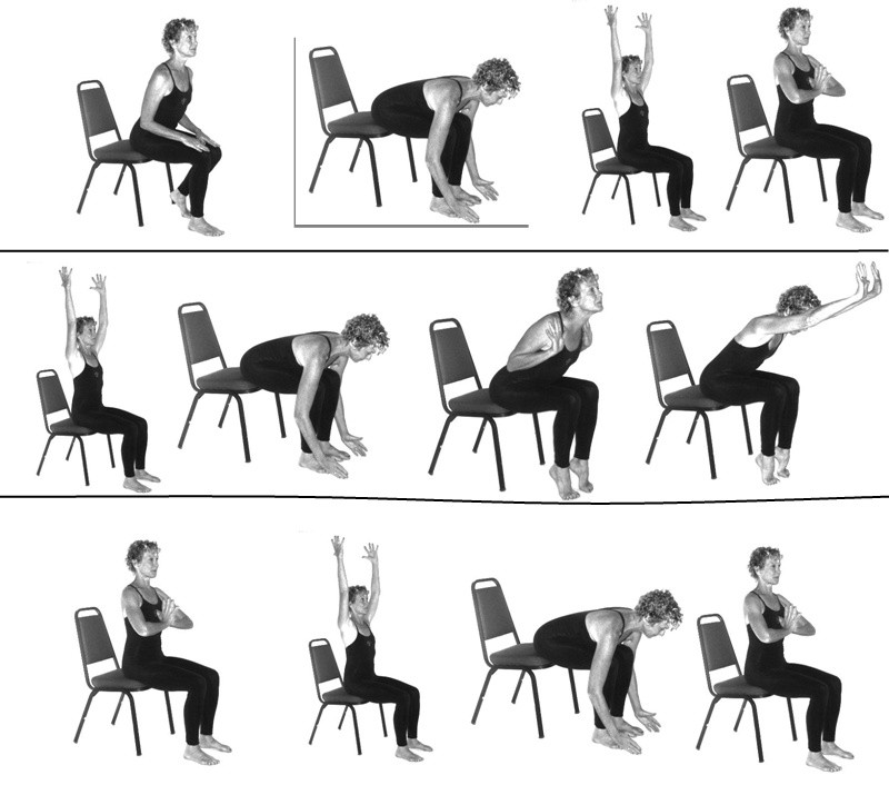 96 Wheelchair Yoga Poses 40 Chair Yoga Poses For Kids