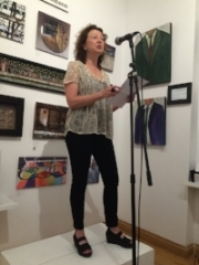 Watch me read a piece from Invisible Ink - At Lit Crawl 2016