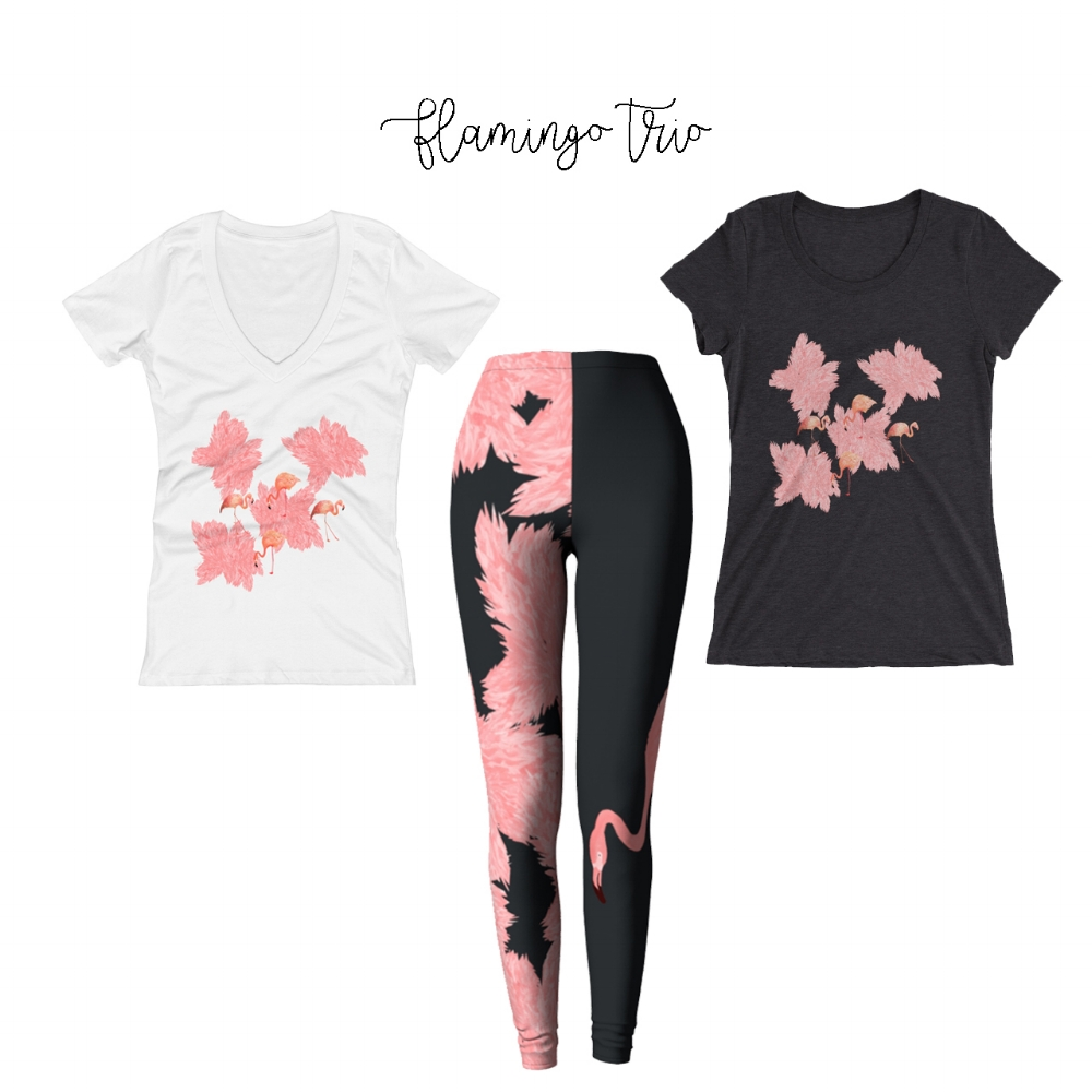 FLAMINGO Trio ! -  Available NOW online !