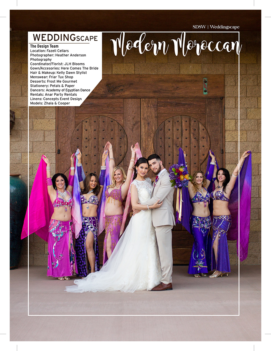 san diego wedding photographer, heather anderson photography, wedding magazine, real weddings